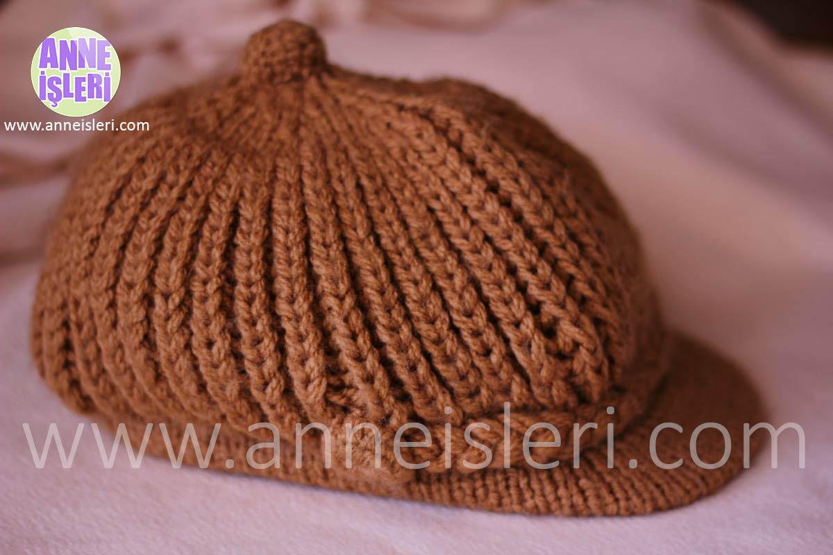 kasketli şapka yapılışı 1