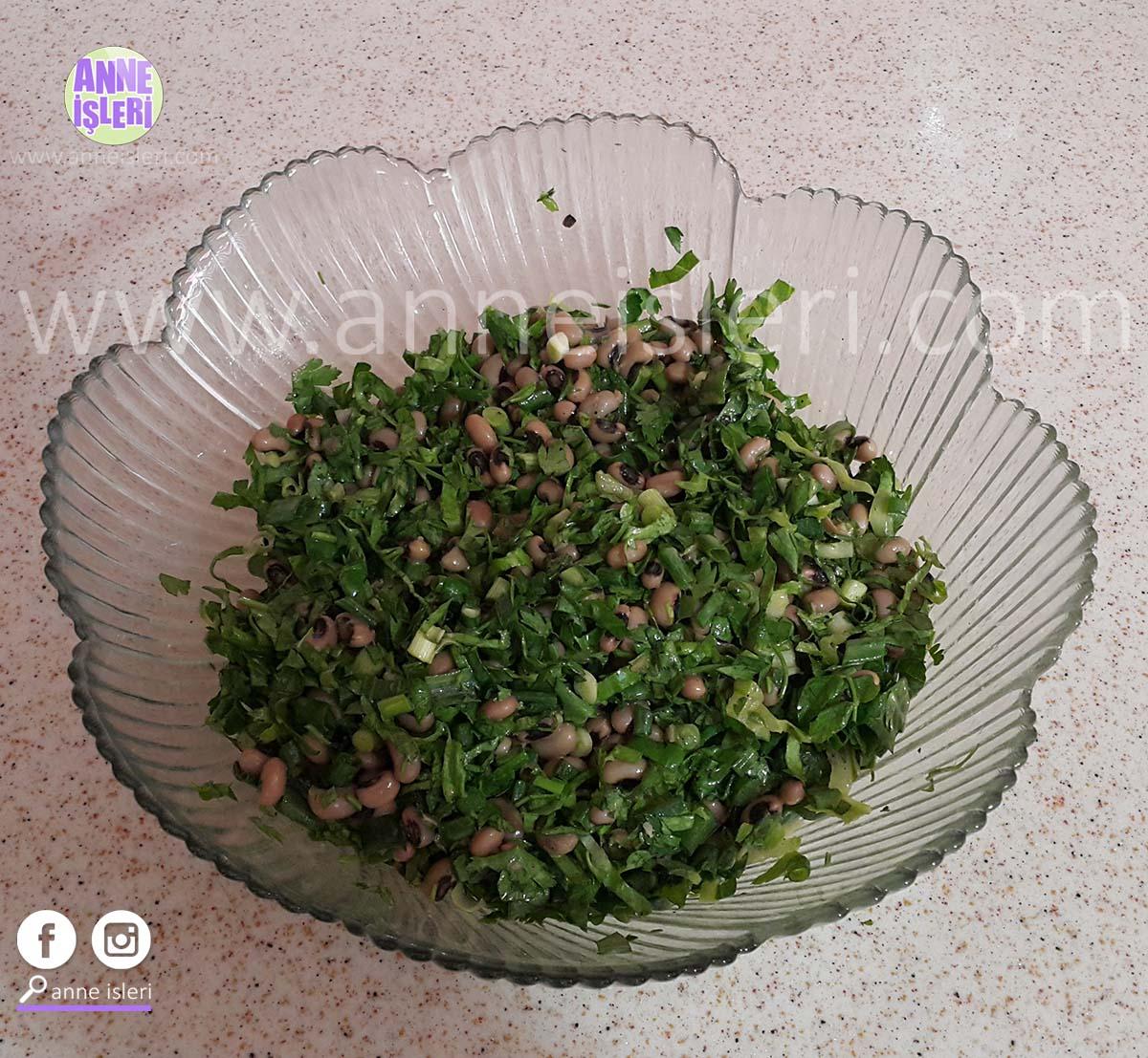börülce salatası tarifi 1