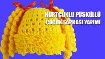 KURTCUKLU-PUSKULLU-COCUK-SAPKASİ