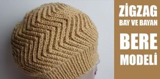 Ajurlu Saç Örgülü Bebek Bere Modeli Yapılışı Videolu